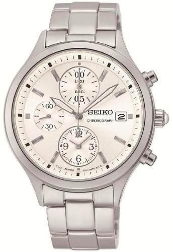 reloj seiko cronógrafo sndx11p1 mujer | envío gratis