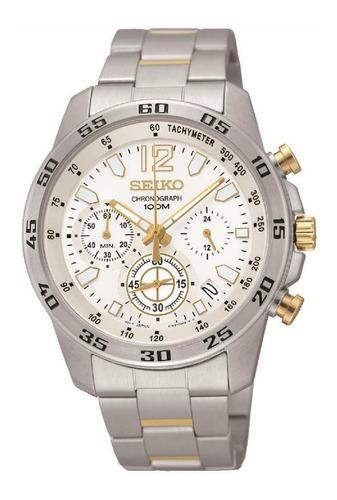 reloj seiko cronógrafo ssb127p1 hombre | envío gratis