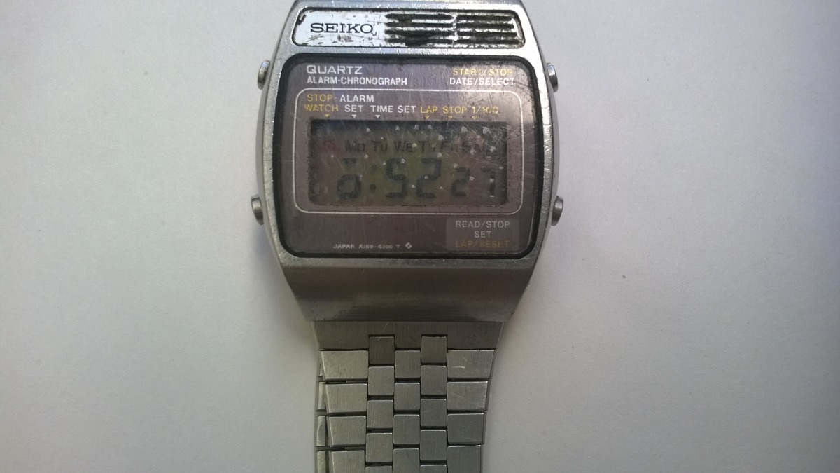 Boutique en ligne 516cc 2090a Reloj Seiko Digital Vintage