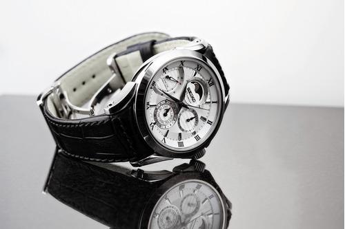 reloj seiko fase lunar premier kinetic exclusivo