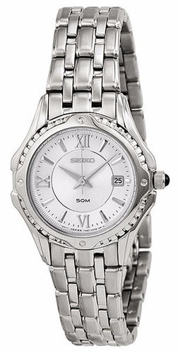 reloj seiko le grand sport acero inoxidable mujer sxdc35