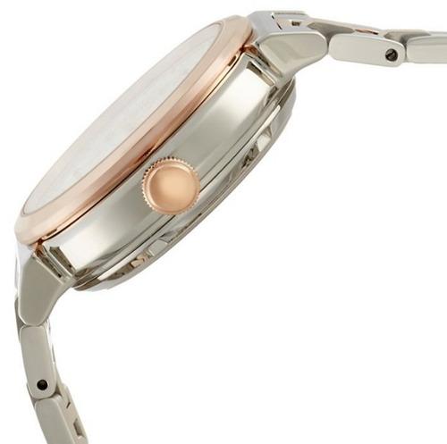 reloj seiko lukia acero inoxidable 2 tonos mujer ssvm018