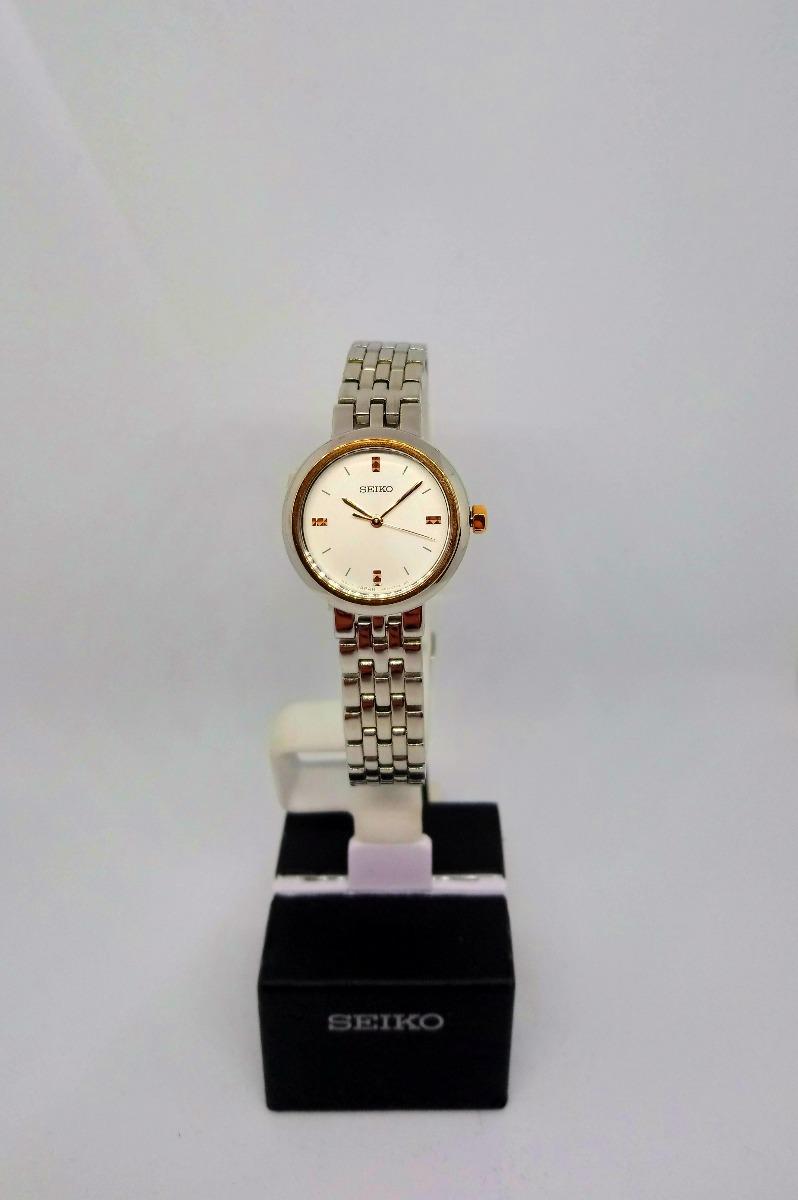 bajo precio f9680 52c1b Reloj Seiko Mujer Analogico Elegante Srz458p1 Original