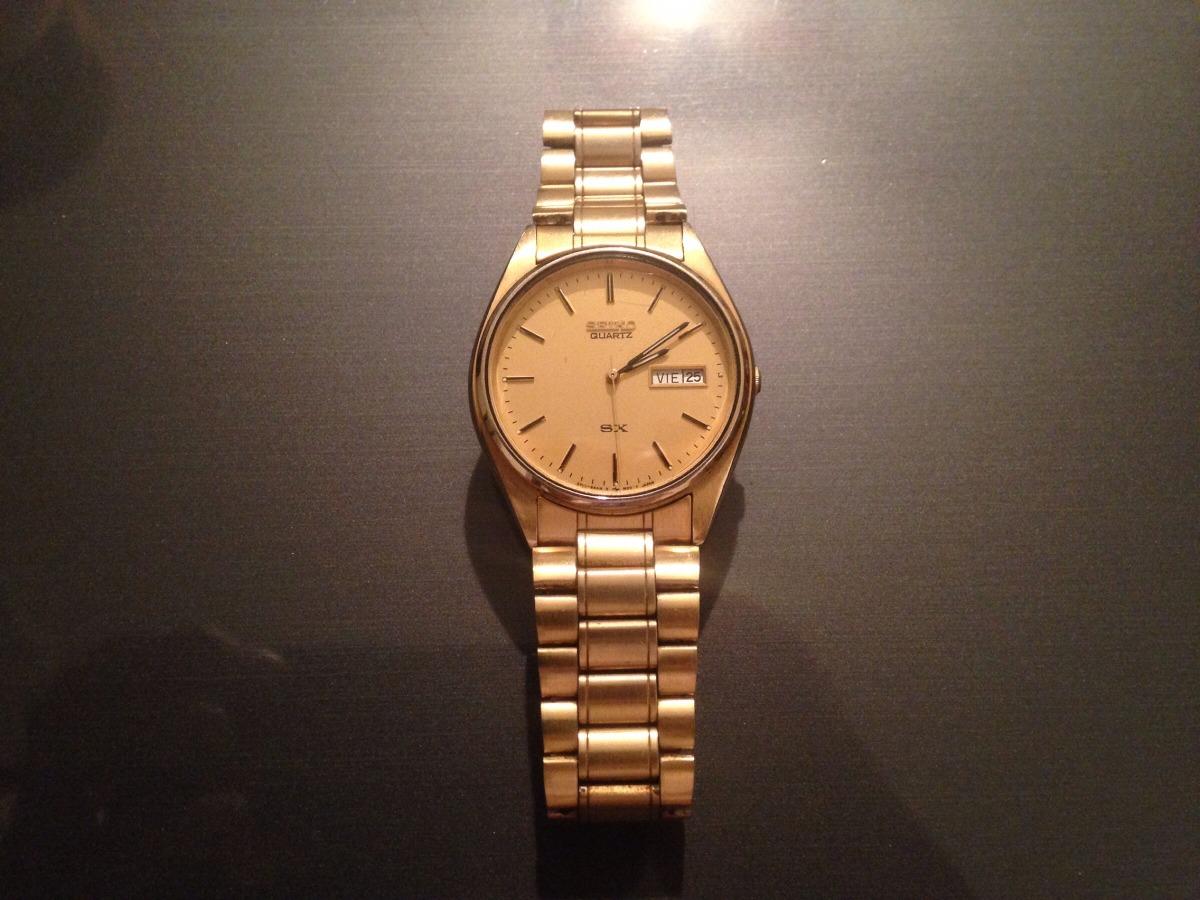 b3de2b2104f7 reloj seiko quartz original para caballero. Cargando zoom.