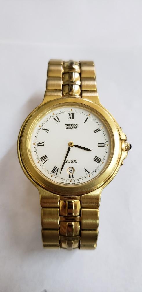 acc771981bd5 Reloj Seiko Quartz Sq 100 2 Meses De Uso Como Nuevo -   6.000