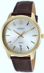 reloj seiko quartz vestir sur036 calendario garantía oficial
