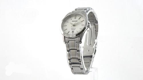 reloj seiko sapphire sxdf55p1 mujer | original envío gratis