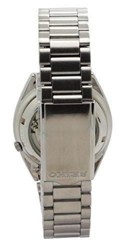 reloj seiko snxs73k seiko 5 p/hombre, acero inox. plateado