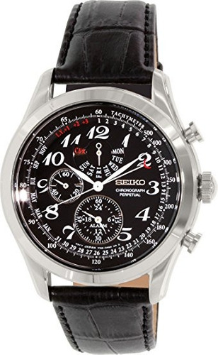 reloj seiko spc133 negro