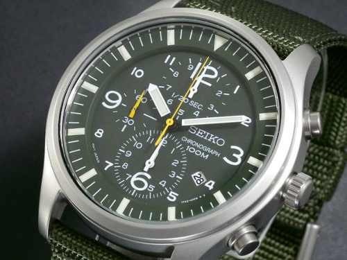 reloj seiko sport cronómetro militar snda27 snda27p1