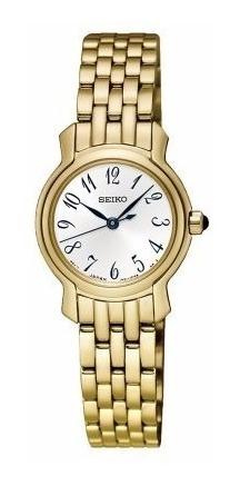 Reloj Seiko Sxgp64 Mujer Dorado Garantia Oficial