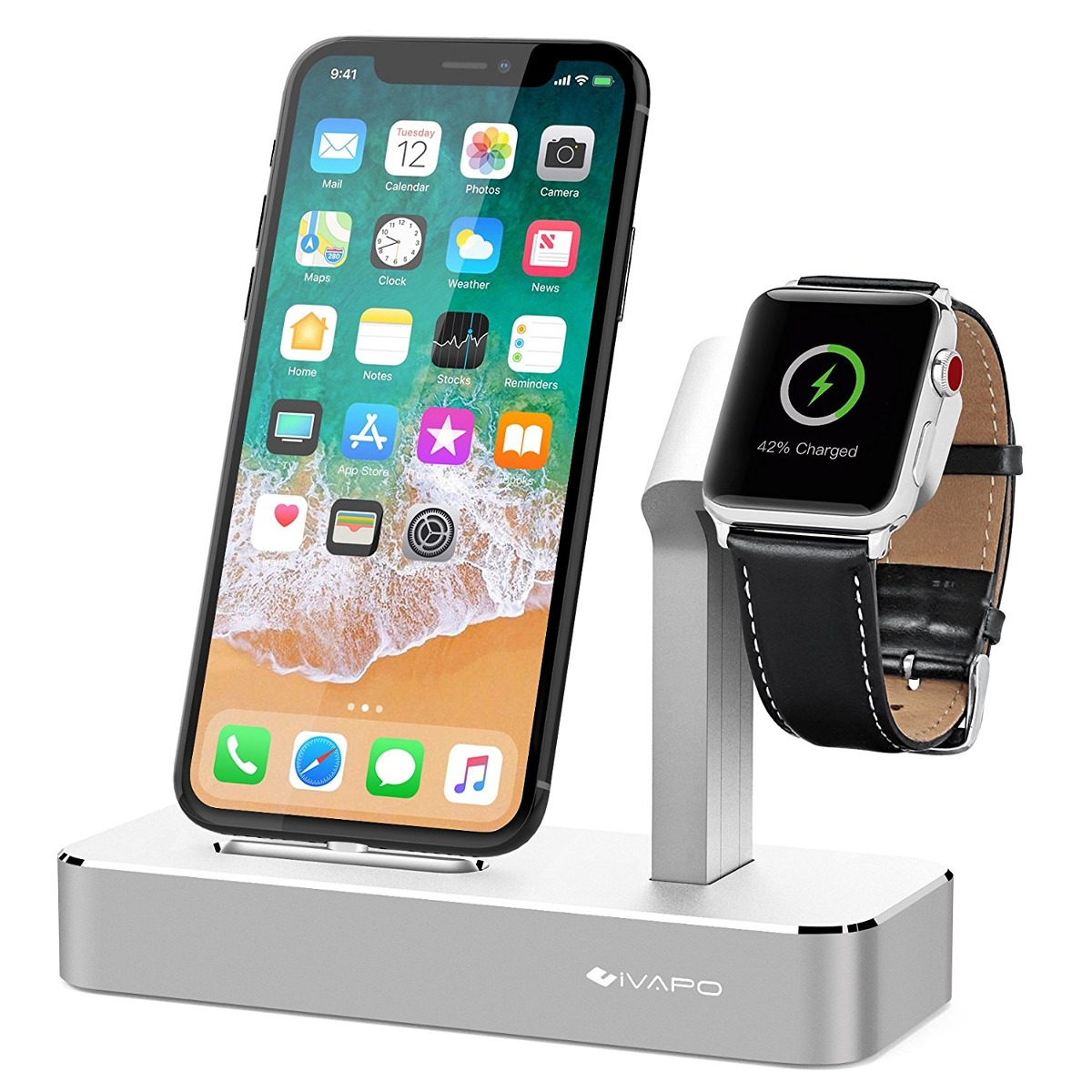 2ebb4c8f1c2 Reloj Serie 2 De Apple Soporte, iPhone 7 / 7plus / 6s / 6s ...