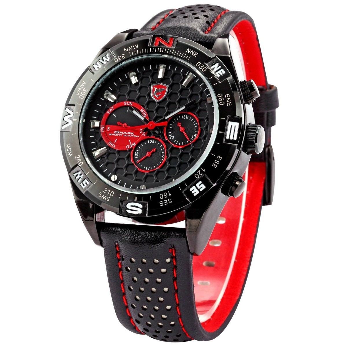 Reloj shark relojes shark reloj para hombres 1 for Relojes de pared antiguos precios