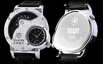 reloj shark saw053 negro