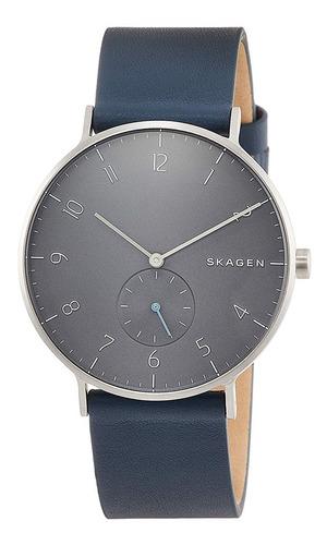 reloj skagen hombre azul skw6469