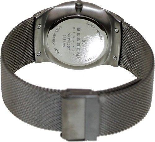reloj skagen men's aktiv skw6007 silver stainless-steel quar