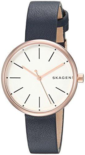 51f32a958d12 Reloj Skagen Skw2592 Signatur Azul De Cuero Para Mujer Sk... -   566.900 en Mercado  Libre