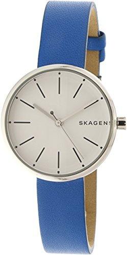 a88f3620a6d3 Reloj Skagen Skw2597 Signatur Azul De Cuero Para Mujer -   32.900 en ...