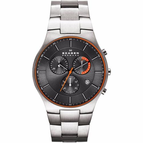 reloj skagen skw6076 titanium chrono hombre envio gratis !!