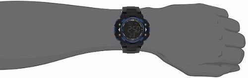 reloj skechers sr1035 digital display quartz black hombre