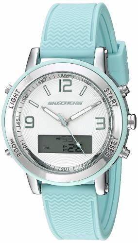 reloj skechers sr6001 analog-digital display quartz mujer