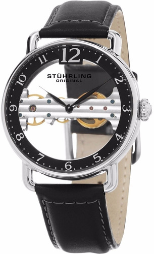 reloj skeleton stuhrling original bridge 976.01 inotech