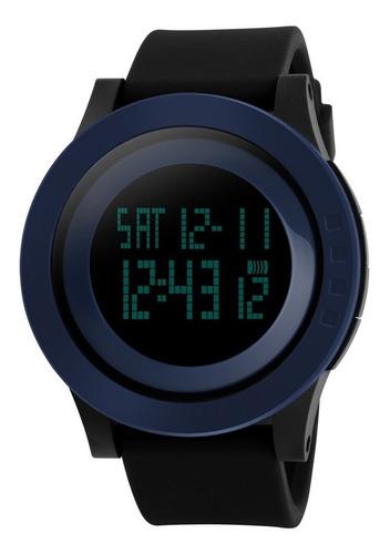 reloj skmei 1142 deportivo sumergible luz cronometro alarma reloj de pulsera camus electronica