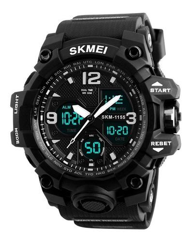 reloj skmei 1155 cronometro - deportivo - varios colores