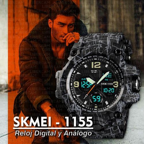 reloj skmei 1155b deportivo hombre digital sumergible