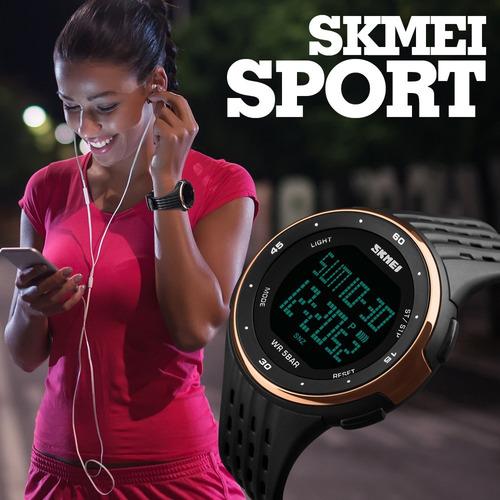 reloj skmei 1219 deportivo resiste agua 5 atm uso rudo