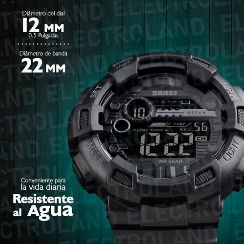 reloj skmei 1243 sumergible deportivo digital hombre new