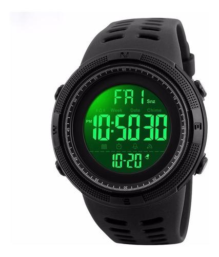 reloj skmei 1251 hombre deportivo digital + estuche metal