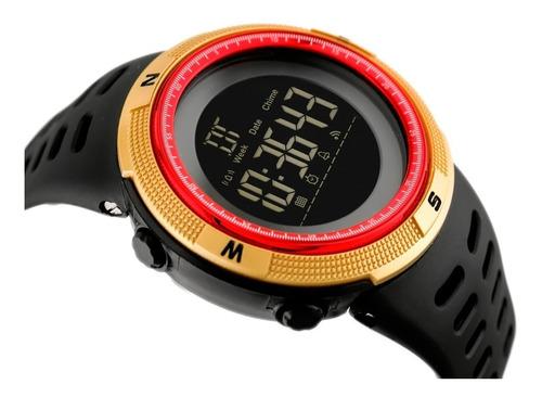 reloj skmei 1251 hombre deportivo resiste agua 50m uso rudo