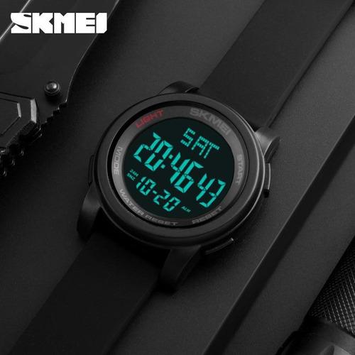 reloj skmei 1257 hombre digital deportivo sumergible 50m