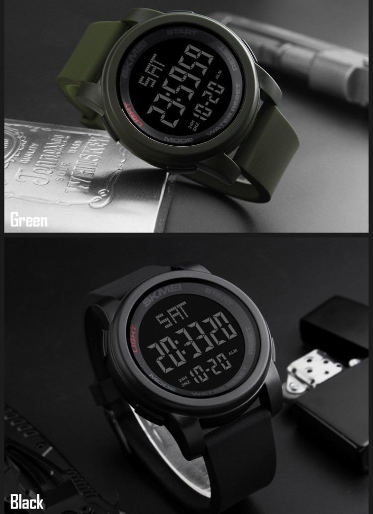 31287142bd5c reloj skmei 1257 hombre digital deportivo sumergible 50m. Cargando zoom.