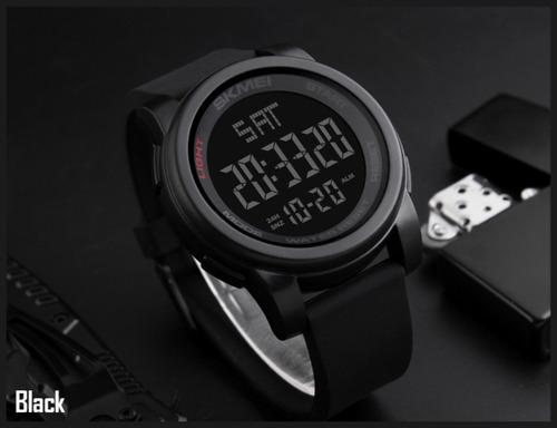 reloj skmei 1257 hombre digital militar deportivo + estuche