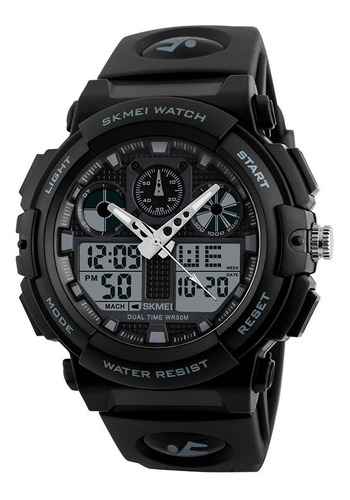 reloj skmei 1270 digital alarma deportivo sumergible fecha