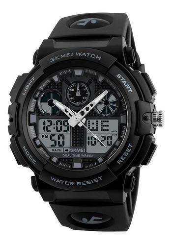 reloj skmei 1270 digital analogo deportivo sumergible