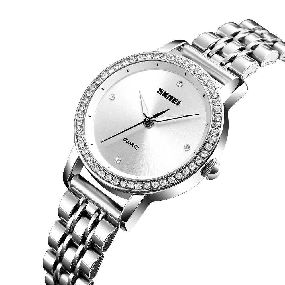 239cb151e95e reloj skmei 1311 mujer dama cuarzo elegante acero inoxidable. Cargando zoom.