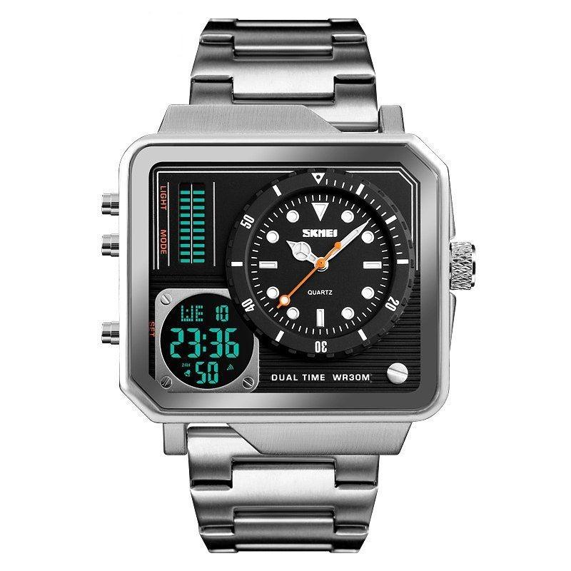 6aa38e7bf499 reloj skmei analógica - digital para caballeros. Cargando zoom.