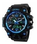 reloj skmei blue(original,indestructible,resistente al agua)