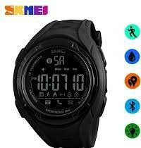 reloj skmei bluetooth deportivo digital iluminación led