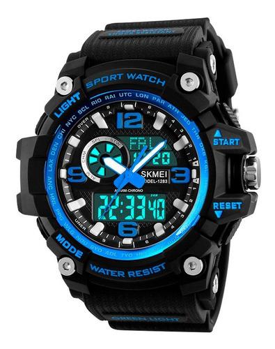 reloj skmei cronó 1283 acuático deportivo g-shock original