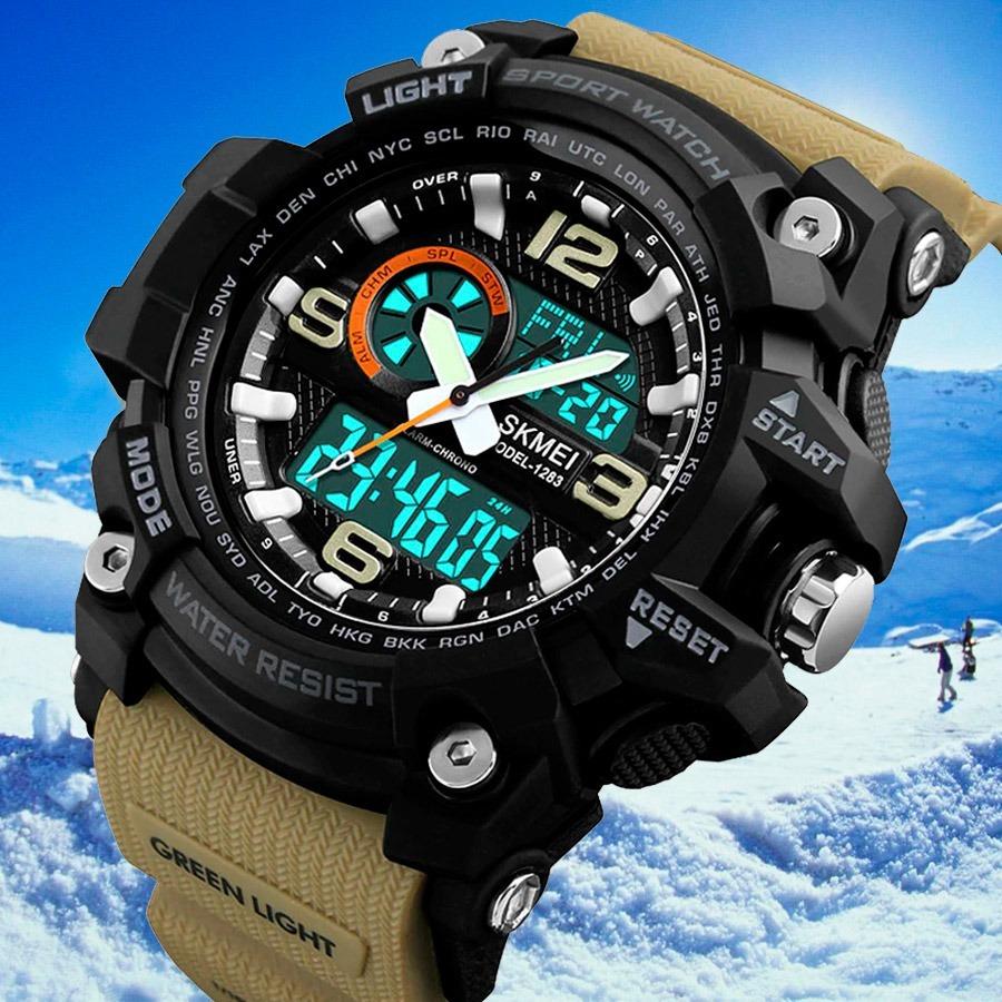 50dccf9e5b13 reloj skmei deporte 0990 g-shock acuatico 100% original caja. Cargando zoom.