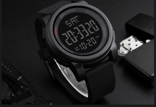 reloj skmei deportivo digital cronometro sumergible 1257