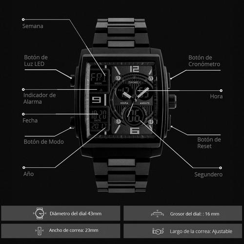 reloj skmei hombre