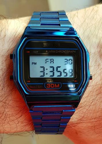reloj skmei hombre mujer cronometro deportivo acero urbano
