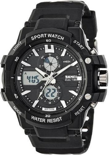 reloj skmei modelo 0990 - sumergible - garantía - deportivo