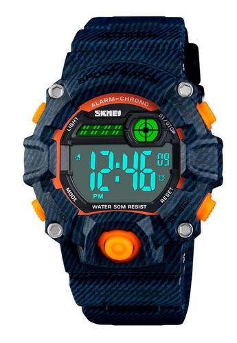 reloj skmei niños 1484 deportes g-shock cronómetro acuáticos
