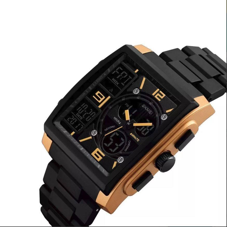 075dcb02a798 Reloj Skmei Para Hombre Digital Análogo Cuadrado 1274 -   350.00 en ...
